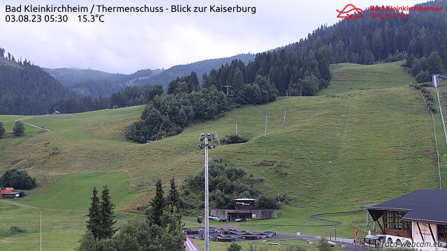 Webcam Bad Kleinkirchheim Tal Römerbad