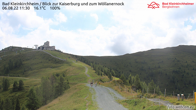 Webcam Bad Kleinkirchheim Kaiserburg